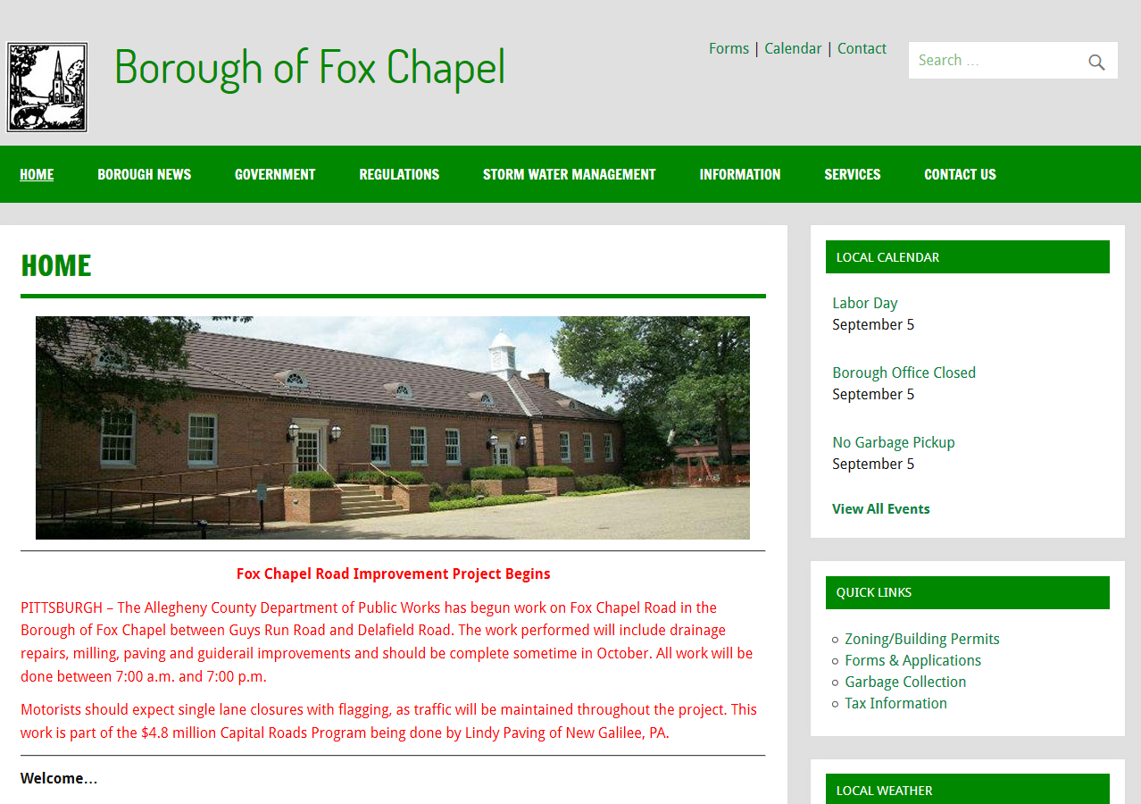 Fox Chapel Borough